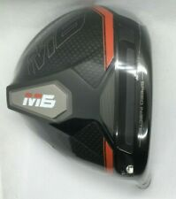 NEW..TaylorMade M6 D Type Driver Head 12*, RH, fits M1,M2,M3,M4,M5 Tip **Wrapped