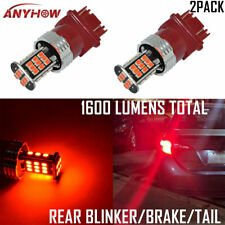 3157K LED Brake/Tail/Rear Turn Signal Blinker Light Bulb Lamp Red Light US STOCK