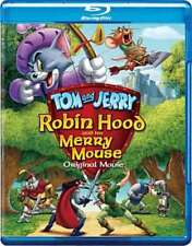 BLU-RAY - TOM AND JERRY: ROBIN HOOD AND HIS MERRY MOUSE - Brand New + Free Ship