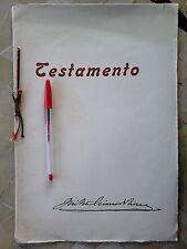 MURCIA, TESTAMENTO OLÓGRAFICO, JOSE ANTONIO PRIMO DE RIVERA Y SAENZ DE HEREDIA,