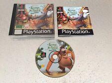 PS1 Le Livre De La Jungle Groove Party Disney PLAYSTATION 1 SONY PAL FR COMPLET