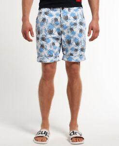 New Mens Superdry International Chino Shorts Size S /holidays/pockets/ soft