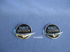 Harley Davidson road king softail dyna touring v rod gas fuel tank emblem badge