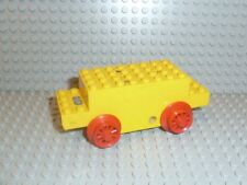 LEGO® Eisenbahn 1x Lok Motor 4,5V gelb x469b Type C yellow getestet Räder F1261