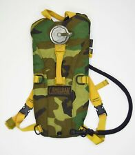 ORIGINAL US ARMY CAMELBAK 3L WOODLAND HYDRATION PACK OUTDOOR RUCKSACK THERMOBAK