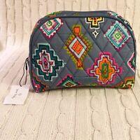 Vera Bradley Medium Zip Cosmetic Bag Painted Medallions Travel NWT MSRP $28