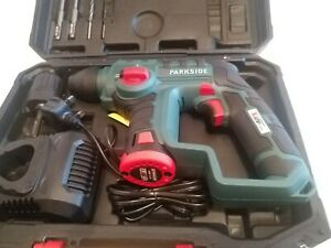 PARKSIDE 12V Cordless SDS Hammer Drill ,Battery, Charger,bits Used Only Once VGC