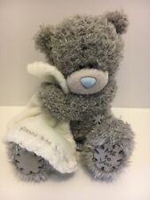 Me To You Teddy Bear Tatty Gray Blue Nose Hug Blanket Small Stuff Animal Plush