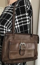 FOSSIL Women's Vintage PEBBLE LEATHER SHOULDER Bag TOTE