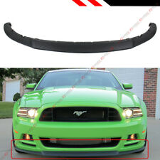 FOR 2013-2014 FORD MUSTANG RO STYLE LOWER FRONT BUMPER LIP SPLITTER CHIN SPOILER
