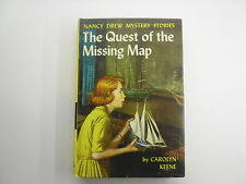 Nancy Drew #19, Quest of the Missing Map, Picture Cover, BCE