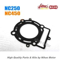 64 NC250 NC450 Parts Cylinder head gasket ZONGSHEN Engine NC ZS177MM KAYO Xmoto