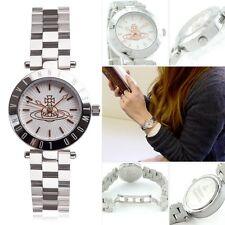 Vivienne Westwood Westbourne VV092SL Silver Dial Leather Strap Ladies Watch