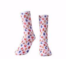 Fast food. Foodie Socks. Burger Socks. Novelty Socks. Flossydesigns Socks.