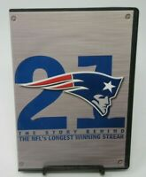 21: THE STORY BEHIND THE NFL'S LONGEST WINNING STREAK 2-DISC DVD SET, PATRIOTS