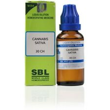 SBL Cannabis Sativa 1000CH30ml) For Delusions, Convulsion, Headache, Stammering