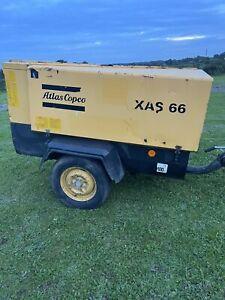 Atlas Copco Xas 66 Diesel Compressor Year 2002
