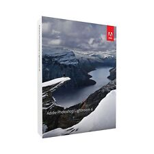 Adobe Lightroom 6 for Mac or Windows (1 User)