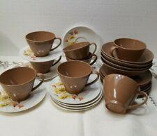 Vintage Lot Melamine/Me 00006000 Lmac Tableware - 7 Lenox Ware Cups 1960-1970