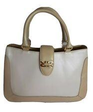 Renoir Genuine Leather Top Handle Bag