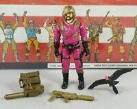 Original 1988 GI JOE VOLTAR V1 figure UNBROKEN Complete figure ARAH Cobra