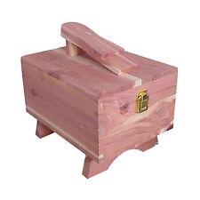 Cedar Shoe Box, Shoe Care Box For Storing Shoe Creams, Polishes, Cloths & More