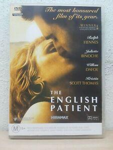 The English Patient (DVD, 1996) Ralph Fiennes - Juliette Binoche - Willem Dafoe