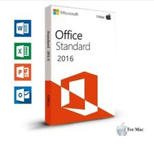 MS Office 2016 Home and Business for / für MAC / Standard / 1 MAC / per Ebay