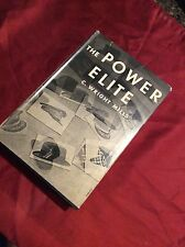 THE POWER ELITE BY C. WRIGHT MILLS FIRST EDITION 1956