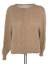 b.m&s maglione donna vintage anni 80 beige lana taglia 3 m medium