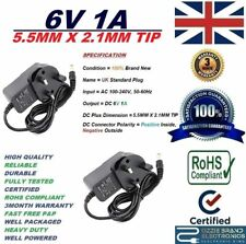 UK 6V adaptador de fuente de alimentación para caber Homemedics bpa-300-em Monitor de presión arterial