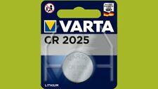 60 x Varta CR2025 CR 2025 6025 3V Lithium Knopfzelle Blister Batterien