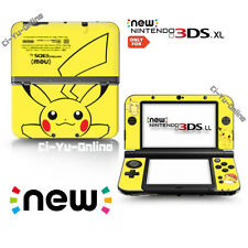 Ci-Yu-Online [new 3DS XL] Pokemon #1 Pikachu Yellow VINYL SKIN STICKER DECAL