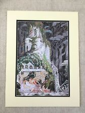 Vintage Print Hansel & Gretel Grimms Fairy Tales Kay Nielsen Enchanted Castle