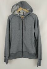 Patagonia XL Cloud Stack Full-Zip Hoody Hood Blue Fleece Free Ship Women's