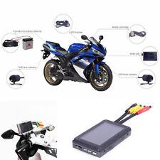 "3"" Motorcycle DVR WiFi Dual HD Camera 140° Wide Angle GPS Tracker G-sensor WIFI"