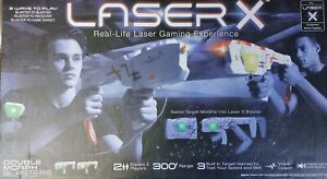 BRAND NEW! Laser X Double Morph Blasters Game 2 Players 300' Range Laser Tag NEW