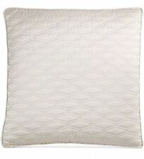 Hotel Collection Woven Texture European Pillow Sham ONLY!  Cotton Beige