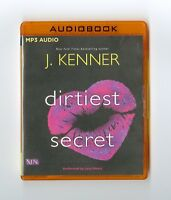 Dirtiest Secret: by J. Kenner: MP3CD Audiobook
