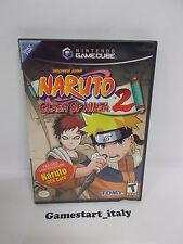 NARUTO CLASH OF NINJA 2 (NINTENDO GAMECUBE) VIDEOGIOCO USATO - NTSC VERSION