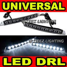 Audi Style 9 LED Daytime Running Light DRL Fog Lamp Day Lights Daylight Kit C96