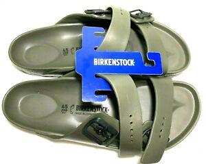 Birkenstock Arizona EVA Mens Size 12 Khaki EU 45.5 Slip On Slide Sandals Germany