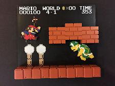 NINTENDO DOTGRAPHICS Super Mario Stage Figure Hammer Bro Vintage FIGURE RARE