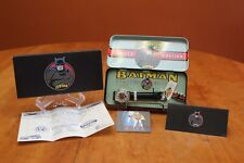Fossil Batman No.1 Limited Edition Watch & Pin in Metal Tin 6,435/10,000 COA New