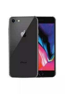 Apple iPhone 8 64GB  Space Gray  Factory Unlocked Verizon / T-Mobile /AT&T A1863