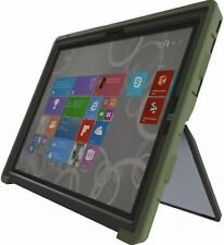 Gumdrop Case Dual Layer w/ Glass Screen For Microsoft Surface Pro 3 (Army Green)
