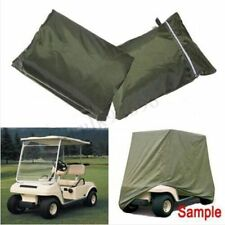 2 Seater Cart Cover Protector for Yamaha Golf Club EZ Go Storage ZIPPER Carts UV