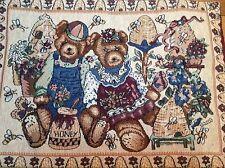 "Teddy Bear Tapestry Cushion / Pillow Cover Sham 32x45cm 12.5x18"" Matching Items"