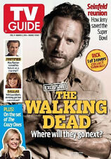 TV Guide magazine The Walking Dead Rick Grimes February 2014 - No Label