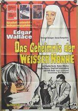 GEHEIMNIS DER WEISSEN NONNE (Plakat '66) - EDGAR WALLACE / STEWART GRANGER